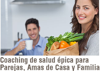 Coaching nutricional y de estilo de vida para familias